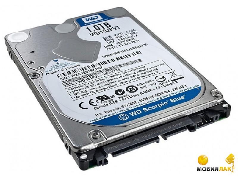 WD 2.5 SATA 3.0 1TB 5400rpm 8Mb Cache Blue (WD10JPVX) MobilLuck.com.ua 1058.000