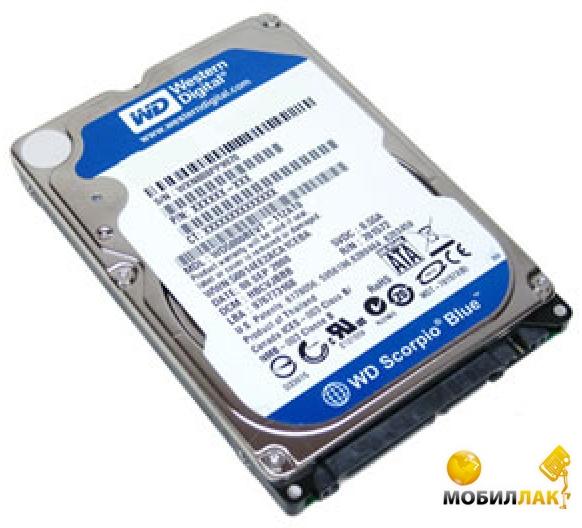 WD 2.5 SATA 3.0 500Gb 5400rpm 8Mb Cache Blue (WD5000LPVX) MobilLuck.com.ua 787.000