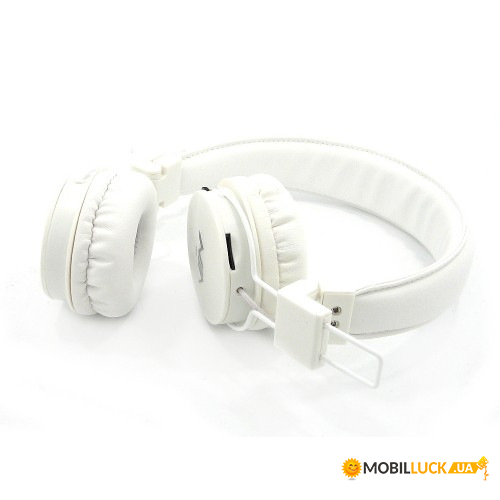 Наушники bluetooth MDR NIA X3 microSD White. Купить Наушники ... 49139edb41204