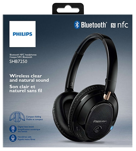 Наушники Philips SHB7250/00 Black