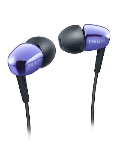 Philips SHE3905PP Purple Philips