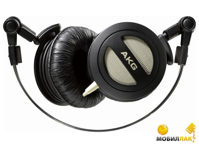 Наушники AKG K404 Headphone On The Go Mini Black (K404BLK)