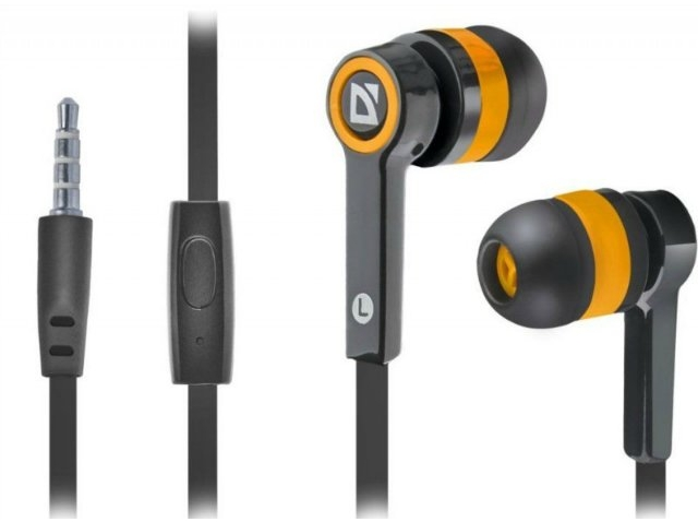 Гарнитура Defender Pulse 420 Black/Orange (63420)