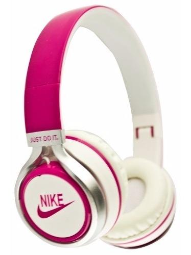 Наушники проводные Nike NK-198 розовые