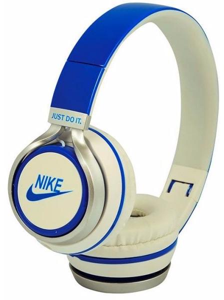 Наушники проводные Nike NK-198 Синие