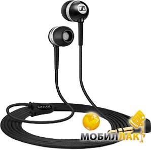 Наушники Sennheiser CX 300-II Precision Black (502737)