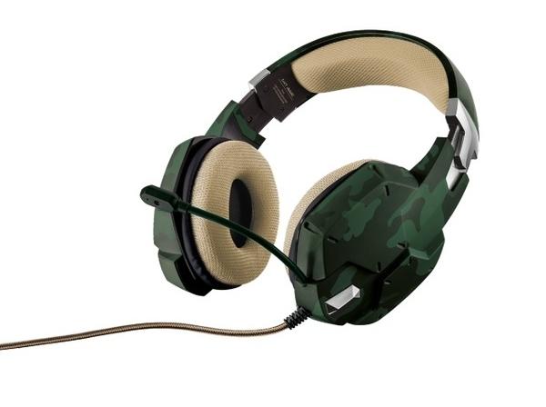 Наушники Trust GXT 322C Green camouflage