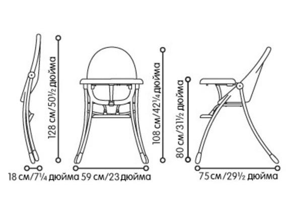 Детский стул для кормления своими руками чертеж