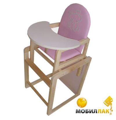 Ommi Стульчик-трансформер Pink (35882) Ommi