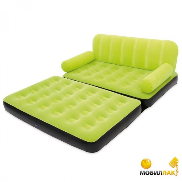 отзывы о надувной диван трансформер 5 в 1 Bestway 67356 салатовый