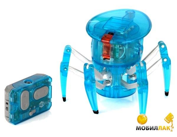 Hexbug Микро-робот на ИК управлении Спайдер Голубой (451-1652-blue) MobilLuck.com.ua 633.000