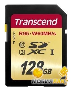 Transcend SDXC 128GB Class 10 UHS-I U3 R95/W65MB/s (TS128GSDU3) MobilLuck.com.ua 1859.000