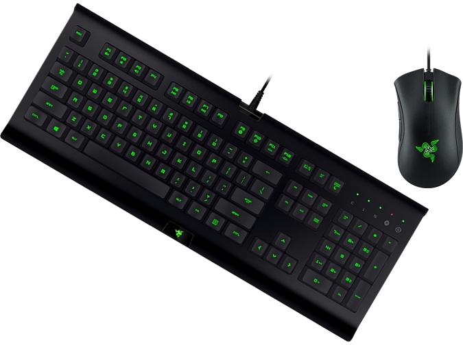 Клавиатура и мышь Razer Cynosa (RZ84-01470200-R3G1) Black USB