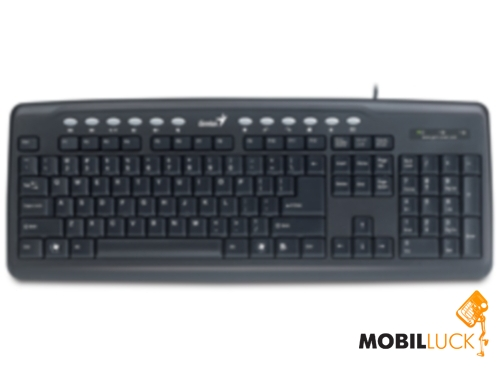 Genius KB-M220 USB Black CB (31310050112) MobilLuck.com.ua 165.000