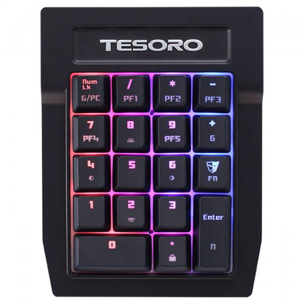 Tesoro Tizona Spectrum Numpad (TS-G2SFLP BL) Tesoro