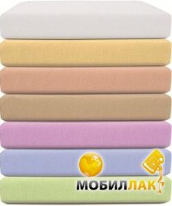 BabyMatex Фланелевая простыня на резинке 70х140 см желтая (0032-4) MobilLuck.com.ua 122.000