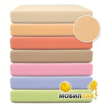 BabyMatex Велюровая простыня на резинке 70х140 см розовая (0030-10) MobilLuck.com.ua 208.000