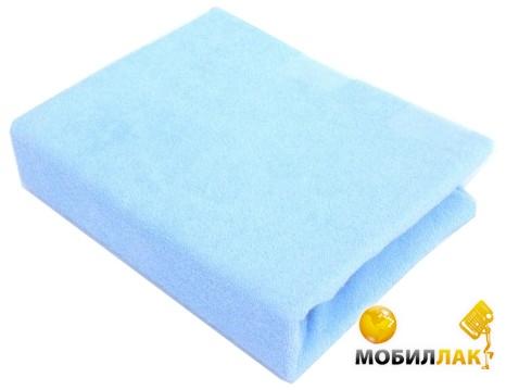 Twins Простыня махровая на резинке 60х120 см Blue MobilLuck.com.ua 152.000