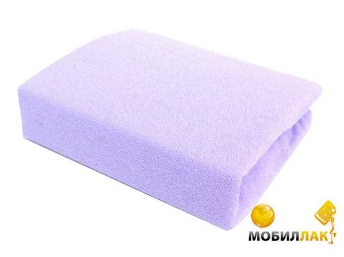 Twins Простыня махровая на резинке 60х120 см Lavender MobilLuck.com.ua 152.000