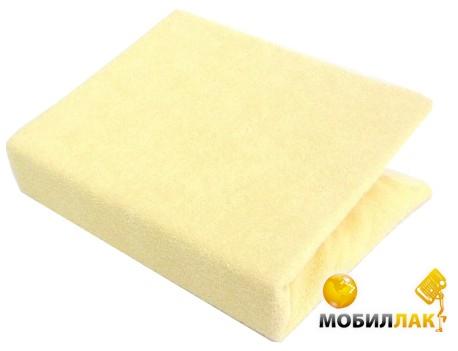 Twins Простыня махровая на резинке 60х120 см Yellow MobilLuck.com.ua 152.000