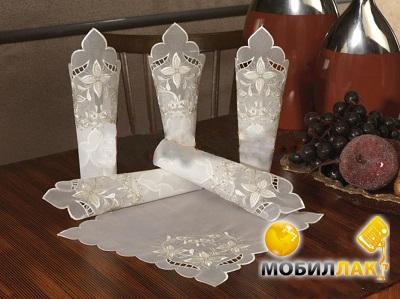 Kayaoglu Yildiz 6 предметов кремовый (8698703896383) MobilLuck.com.ua 105.000