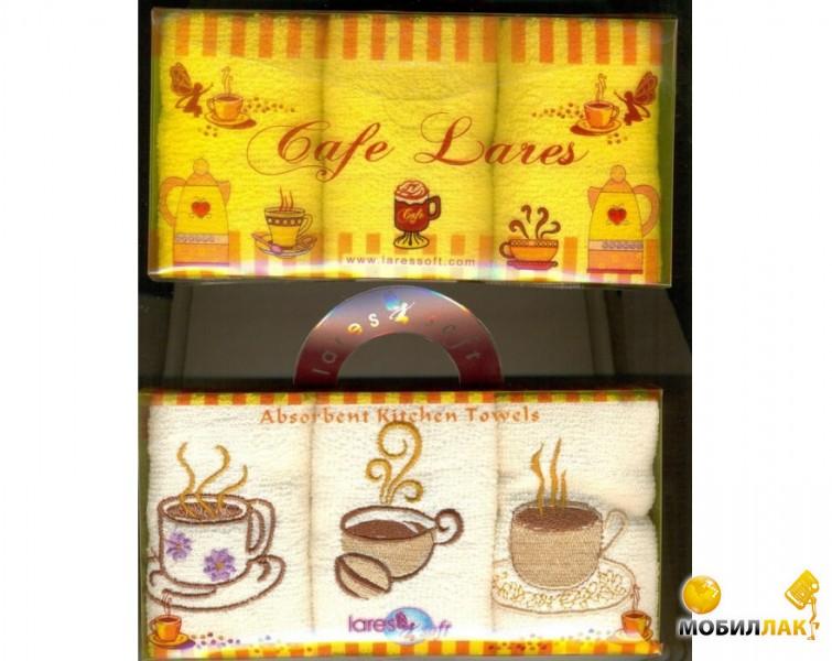 Lares Soft в коробке 30Х30 3 предмета кремовый (3000000054956) MobilLuck.com.ua 65.000