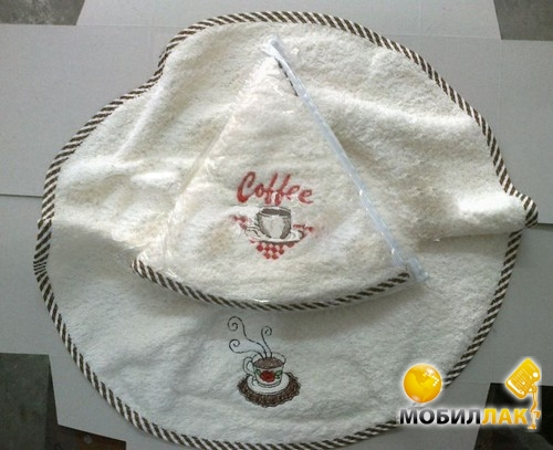 Mercan круглый в сумке 50Х50 коричневый (3333140000058) MobilLuck.com.ua 65.000