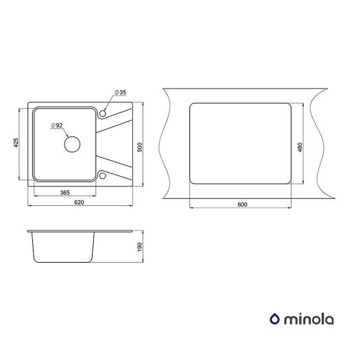 Minola MPG 1140-62 Классик Minola