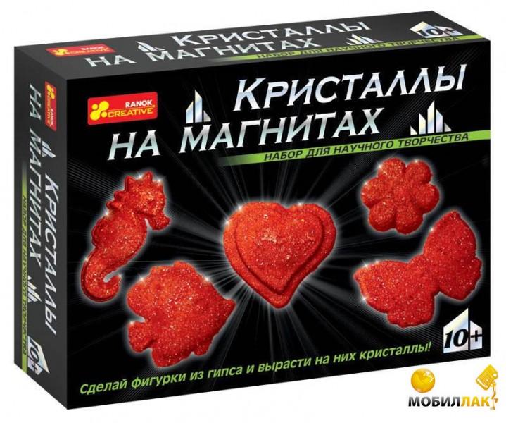 Ranok Creative Набор Кристаллы на магнитах Красные (12126002Р,0385) Ranok Creative