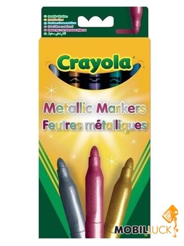 Crayola 5 фломастеров металлик (7552) MobilLuck.com.ua 76.000