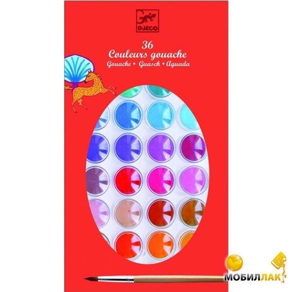 Djeco Гуашь 36 цветов MobilLuck.com.ua 134.000