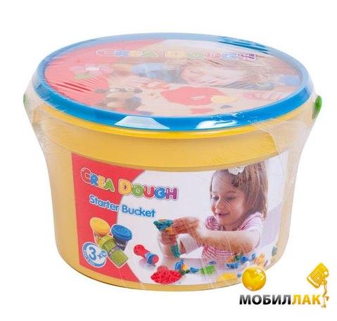 Five Stars Масса для лепки Crea Dough в ведерке 6 цветов (207-10) MobilLuck.com.ua 98.000