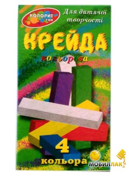 Колорит тон Цветной 4 цвета, 4 шт (20007) MobilLuck.com.ua 12.000