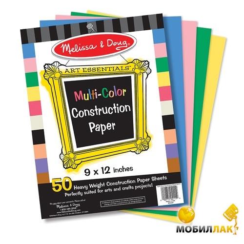 Melissa&Doug Цветная бумага для аппликаций (MD4111) MobilLuck.com.ua 54.000