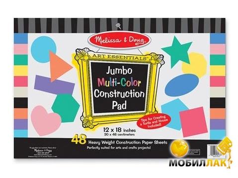 Melissa&Doug Набор цветного картона 48 листов (MD4172) MobilLuck.com.ua 103.000