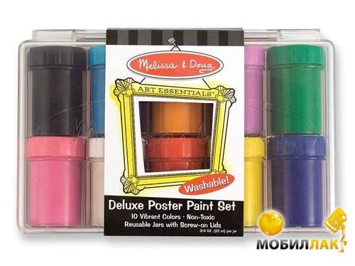 Melissa&Doug Набор красок гуашь 10 цветов (MD4123) MobilLuck.com.ua 181.000