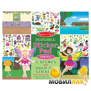 Melissa&Doug Набор многоразовых наклеек Феи (MD8603) MobilLuck.com.ua 97.000