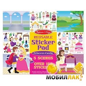 Melissa&Doug Набор многоразовых наклеек Замок принцессы (MD4306) MobilLuck.com.ua 97.000