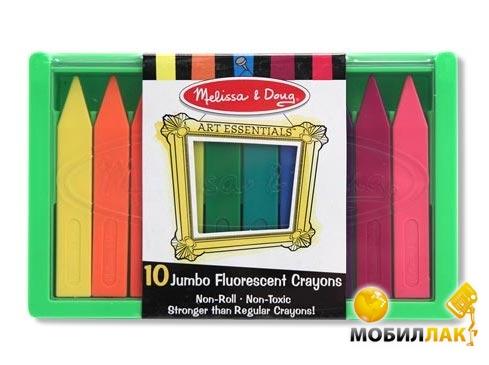 Melissa&Doug Набор полимерных флуоресцентных мелков (MD4153) MobilLuck.com.ua 119.000