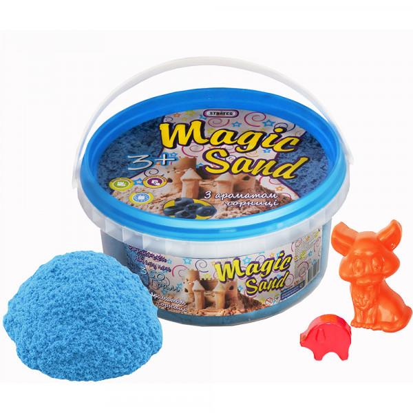 Strateg Magic Sand 350 г Голубой Черника (370-10,037-1) Strateg