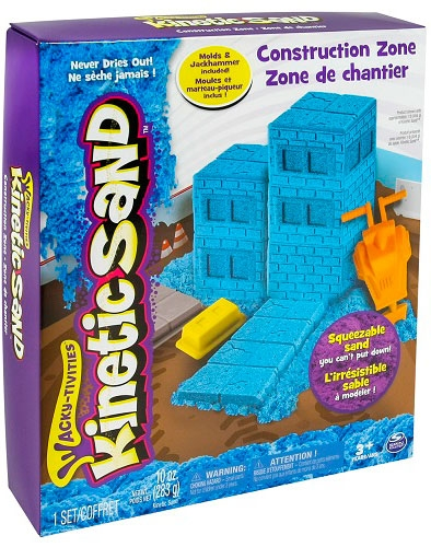 Wacky-Tivities Kinetic Sand Construction Zone Голубой (71417-2) Wacky-Tivities