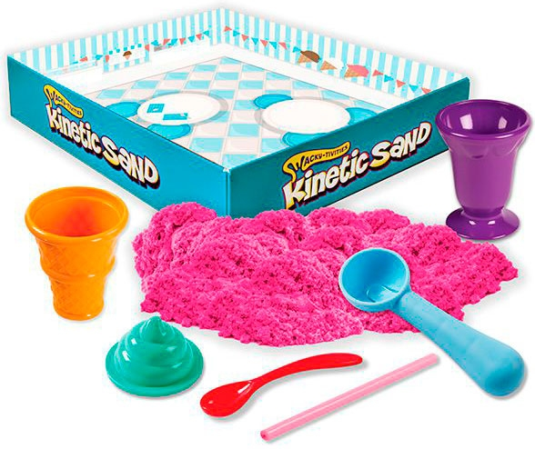 Wacky-Tivities Kinetic Sand Construction Zone Розовый (71417-1) Wacky-Tivities