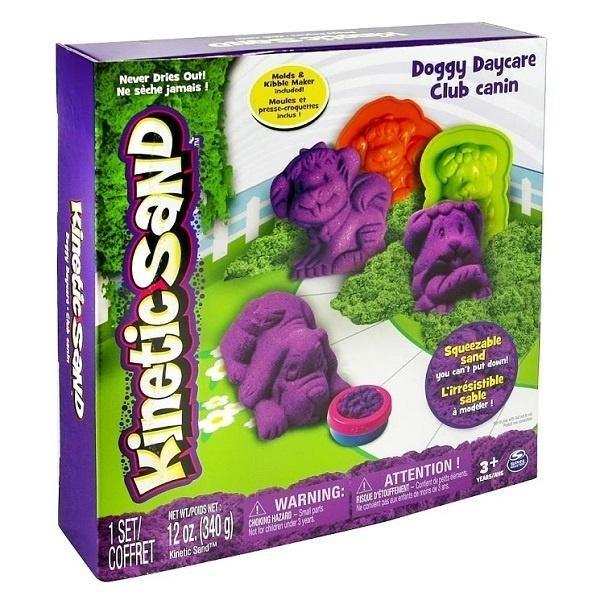 Wacky-Tivities Kinetic Sand Doggy Фиолетовый, зеленый (71415Dg) Wacky-Tivities