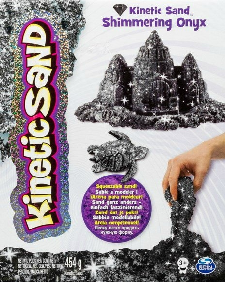 Wacky-Tivities Kinetic Sand Metallic черный 454 г (71408On) Wacky-Tivities