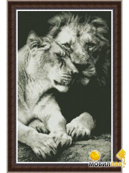 """Животные ручной работы.  Ярмарка Мастеров - ручная работа Вышитая картина  """"Это любовь """".  Handmade."""