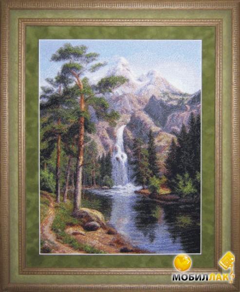 """Набор для вышивания Юнона Водопад по низкой цене в интернет-магазине  """"МОБИЛЛАК """"."""