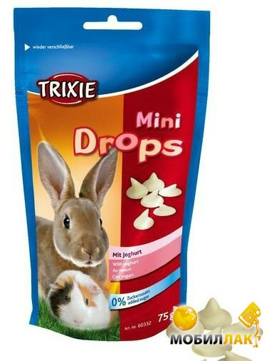 trixie Trixie Mini Drops Йогурт 75 г