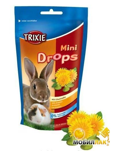 trixie Trixie Mini Drops Одуванчик 75 г