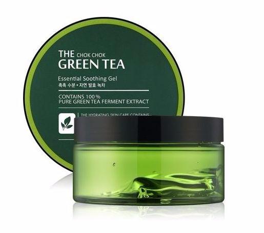Tony Moly с ферментированным чаем The Chok Chok Green Tea Essential Soothing Gel 300 мл Tony Moly