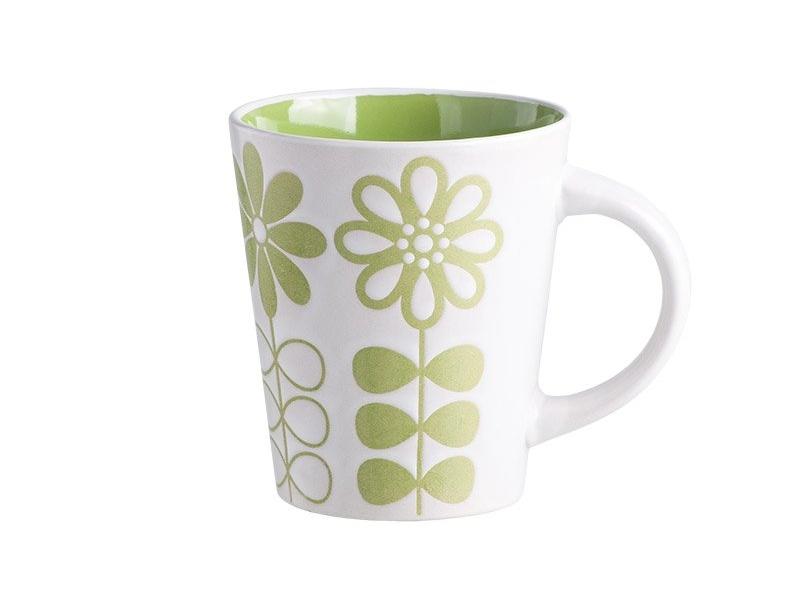 Чашка Banquet Flowers Зеленая 340 мл (603885GR)